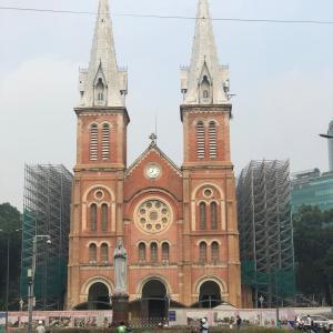 ホーチミン 聖母マリア教会 ベトナム滞在記・15