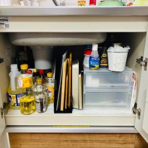 無印良品でキッチン用品を収納してみた