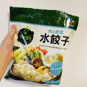 便利冷凍韓国食材 bibigo でスープ餃子