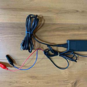バイク用品の動作確認のためにACアダプター改造