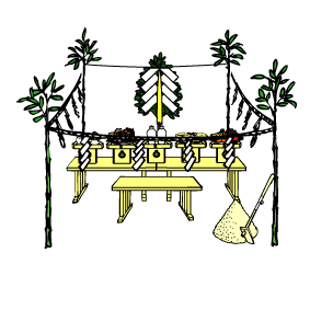 冠嶽神社・地鎮祭(鹿児島県いちき串木野市)