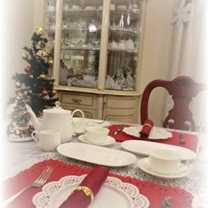♡ クリスマスのテーブルコーデ ♡