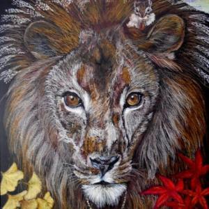 ライオン イン オータム