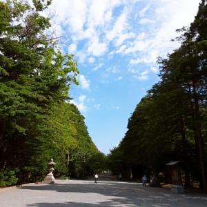 ~誕生日にパワー注入~ 北海道神宮(札幌市)