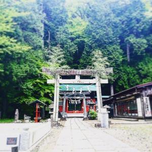 激写!!白龍現る!!!神事明けの日光・清瀧神社で龍神さまと相見えました!!