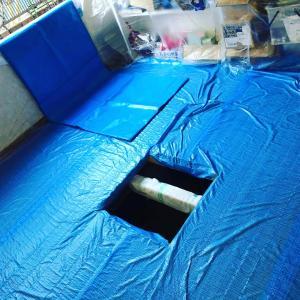 11/13(水)、宇都宮市千波にて、泥出しボランティアに参加してきました。