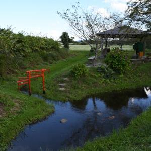 GOTOで鳴子温泉弾丸ツアー2日目その2:分水嶺がこんなところに!&肉そばはやっぱり美味い。