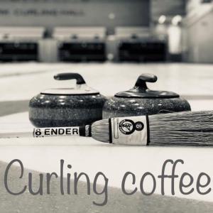 日光カーリングクラブで、カーリングコーヒー販売開始しました!