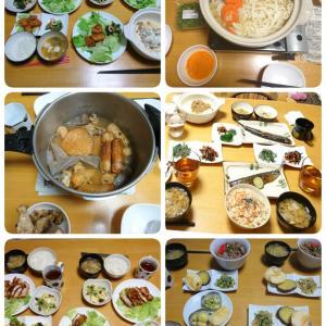 食費3.5万円の1ヶ月間の晩御飯