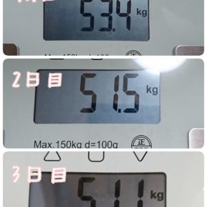 体重公開( ̄▽ ̄;)