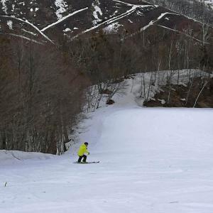 スキー 3月