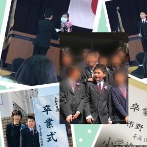 太郎の卒業式