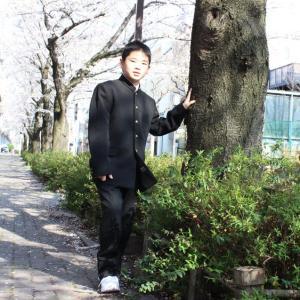 太郎中学生になる