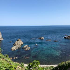 秋の釣り探し島武威海岸