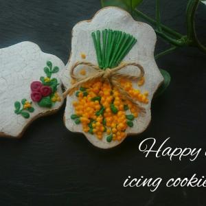 アンティークなアイシングクッキーを作りたい