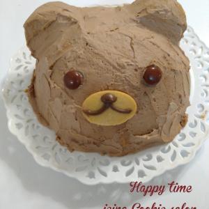 クマちゃんケーキ