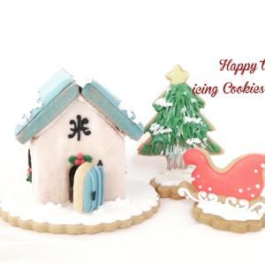 【アイシングクッキーシーズンレッスン】snow house