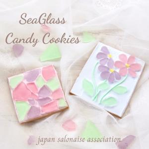 【レッスンメニュー】 JSA公式1DAYレッスン シーグラスキャンディクッキー