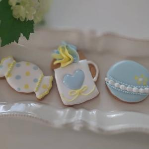 【レポ4/22】アイシングクッキーミニレッスン