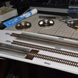 デスクトップレイアウト 製作記 私鉄電車庫Ⅱ-5