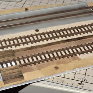 デスクトップレイアウト 製作記 私鉄電車庫Ⅱ-6