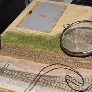 デスクトップレイアウト 製作記 SL駐泊所 36