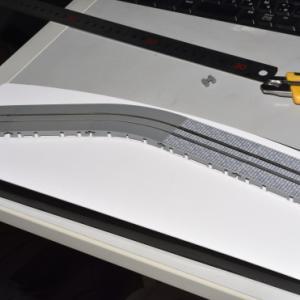 デスクトップレイアウト製作記 路面電車軌道01
