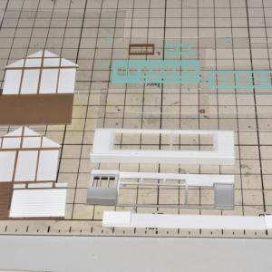 デスクトップレイアウト製作記 路面電車軌道02