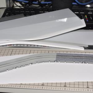 デスクトップレイアウト製作記 路面電車軌道03
