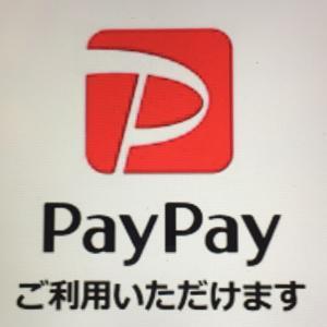 PayPay ご利用いただけます