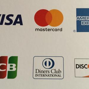 クレジットカード決済 (JCBも使えます)
