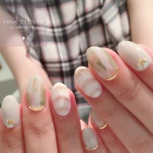 ホワイトサマーネイル♡♡