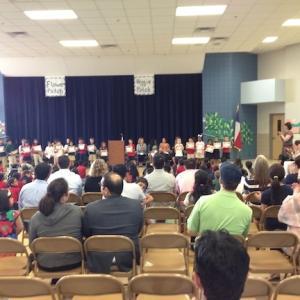 アメリカの小学校 Award Ceremony アワードセレモニー表彰式