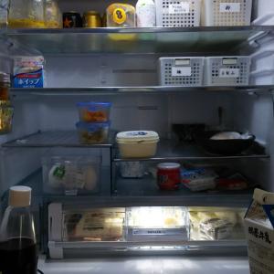 元に戻らないのも当たり前だったのかも。目線で違う冷蔵庫内
