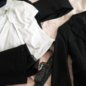 スーツ類の断捨離