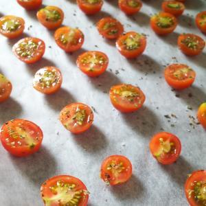 家庭菜園トマトでドライトマト作り