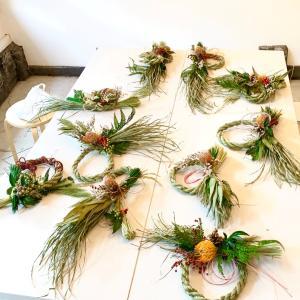 集中の注連縄飾り作り!  !        募集終了しました。