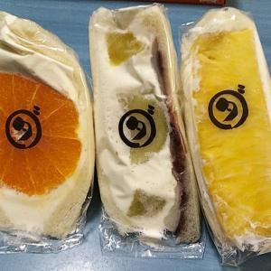 魅惑の食べ物~フルーツサンド