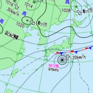 台風12号の直撃は避けられたけど・・・