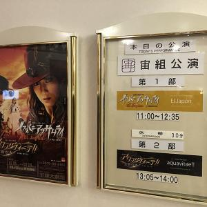宝塚大劇場・宙組公演「イスパニアのサムライ+アクアヴィーテ!!」=惚れ惚れ!!