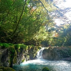 菊池渓谷へ行ってきました。