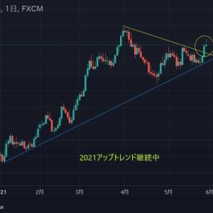★今週もドル円(*_*;月曜窓空け予想を・・・ 緩和バブル2021アップトレンド継続・・・