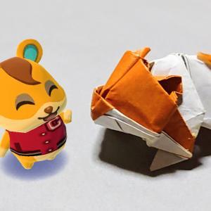 ARポケ森 & 折り紙!