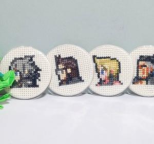 FFXVの刺繍缶バッジ!