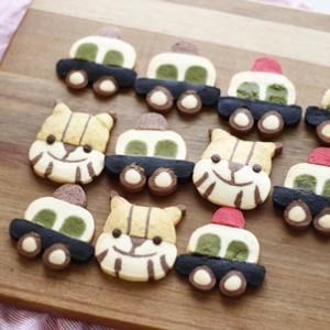 くむクッキー♡パトカー&トラ