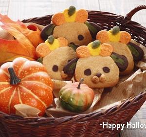 たくさんお菓子を配るなら♡くむクッキー♡トリックオアトリート