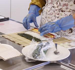 これを学べた皆さんは、お得でした♡大人の巻寿司講座in二葉公民館
