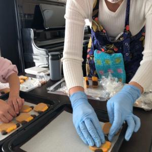 美味しいクッキーで作りたい♡親子でわんプキンクッキー作りレポ!