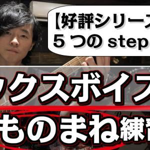 【ミックスボイス:ものまね練習シリーズ】こまかく具体的5つのステップ解説!!