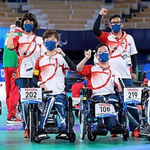 パラリンピック「ボッチャ」